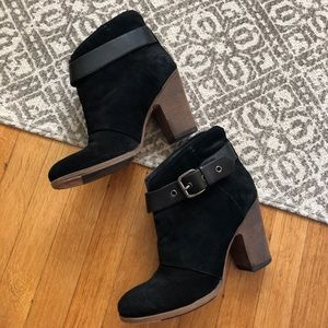 BELLE💕Sigerson Morrison Ankle Leather Booties 8.5
